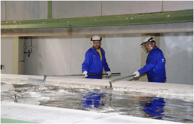 Цинкование металла на производстве