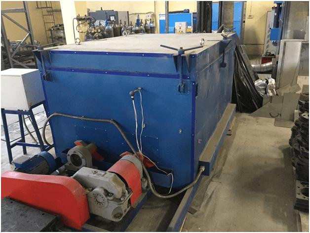 Термодиффузионного варианта цинкования металла