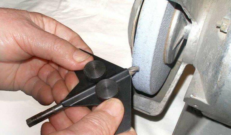 кондуктор для заточки сверла