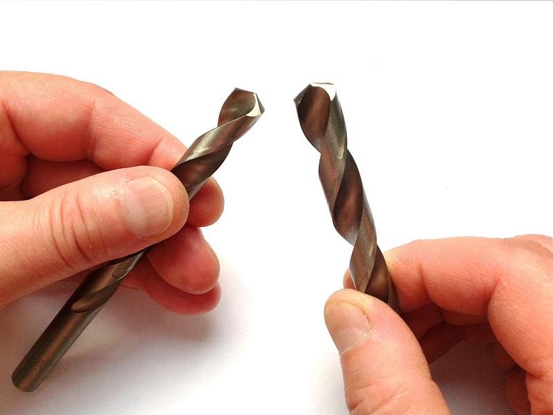 как правильно наточить сверло по металлу