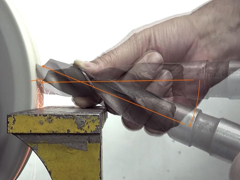 как правильно точить сверла по металлу