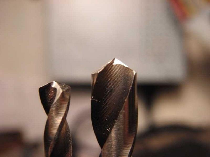 правильная заточка сверл по металлу
