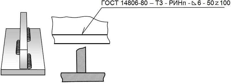 обозначение сварных швов на чертеже